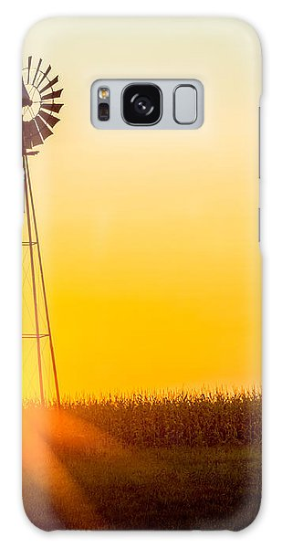 Aermotor Sunset Galaxy Case by Chris Bordeleau