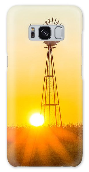 Aermotor Sunset Vertical Galaxy Case by Chris Bordeleau
