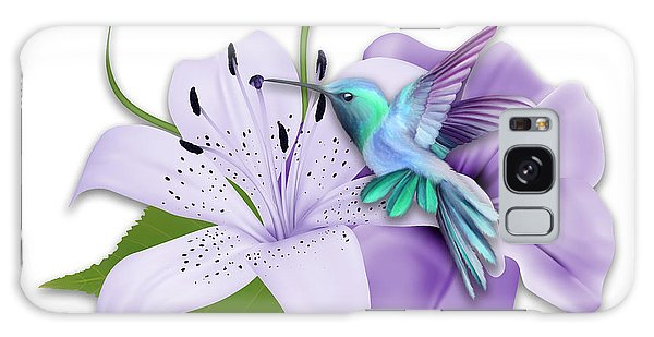 Galaxy Case featuring the mixed media Aeronautical by Marvin Blaine