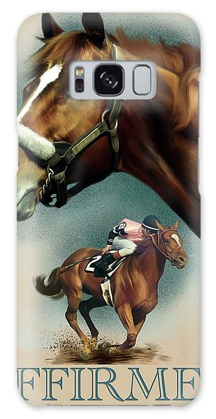 Affirmed With Name Decor Galaxy Case