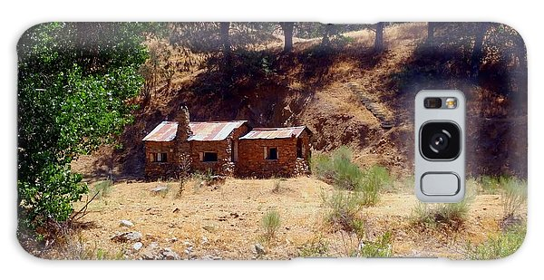 Cozy Cabin Kern County California Galaxy Case