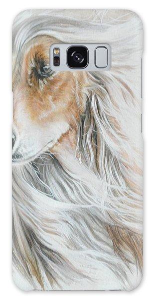 Sighthound Galaxy Case - Afghan Hound by Barbara Keith