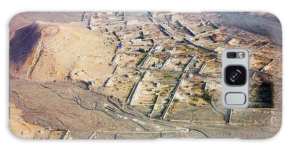 Afghan River Village Galaxy Case
