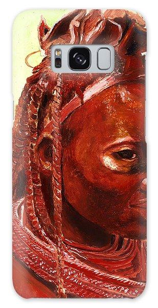 African Beauty Galaxy Case