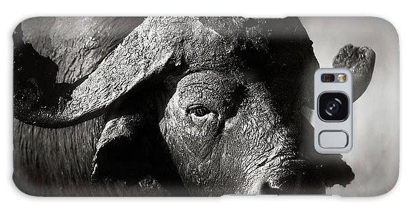 Close Up Galaxy Case - African Buffalo Bull Close-up by Johan Swanepoel