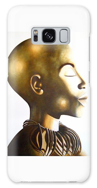 African Elegance Sepia - Original Artwork Galaxy Case