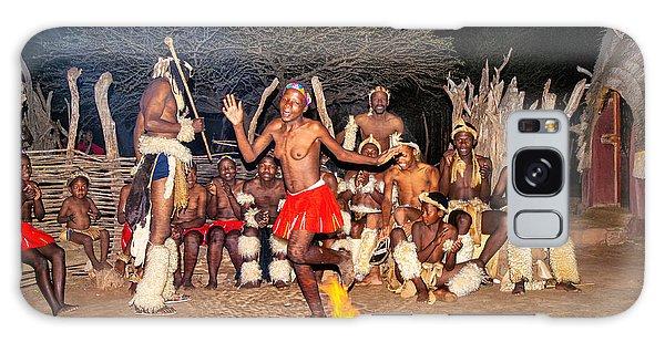 African Fire Dance Galaxy Case by Rick Bragan