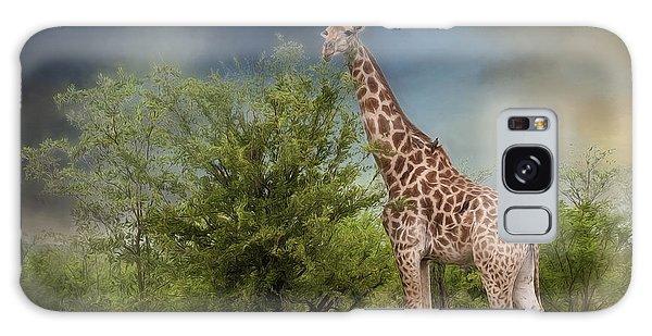 African Giraffe Galaxy Case