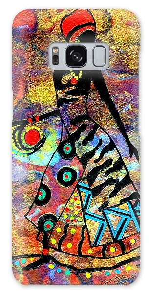 African Healer New Color Galaxy Case by Connie Valasco