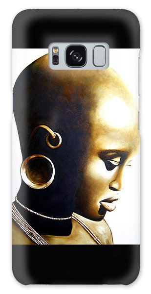 African Lady - Original Artwork Galaxy Case