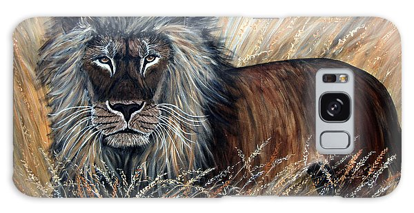 African Lion 2 Galaxy Case