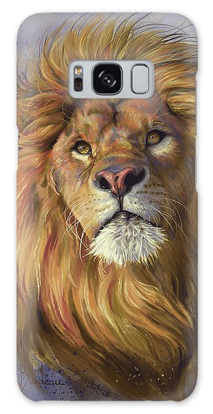 Lion Galaxy Case - African Lion by Lucie Bilodeau