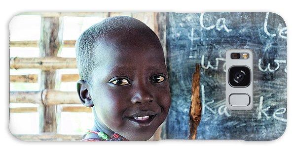 Maasai School Child Galaxy Case