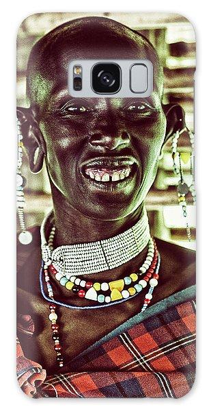 African Maasai Teacher Galaxy Case