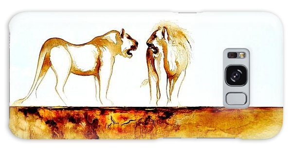 African Marriage - Original Artwork Galaxy Case