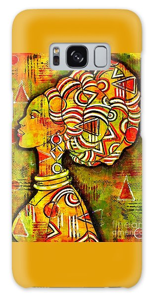 African Queen Galaxy Case by Julie Hoyle