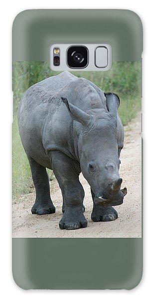 African Rhino Galaxy Case