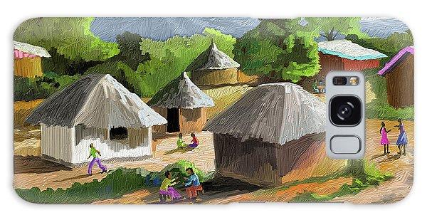 Nigeria Galaxy Case - African Rural Life by Anthony Mwangi