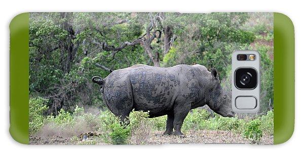 African Safari Naughty Rhino Galaxy Case