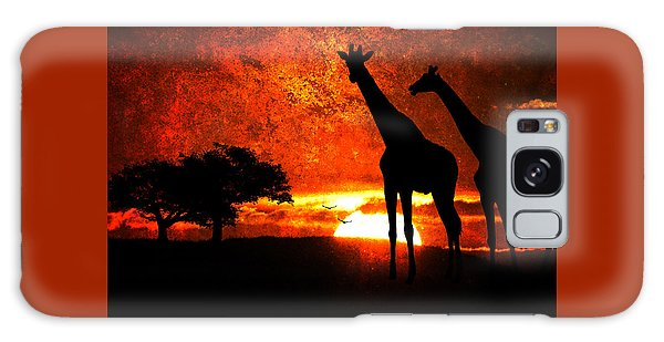 African Safari Galaxy Case