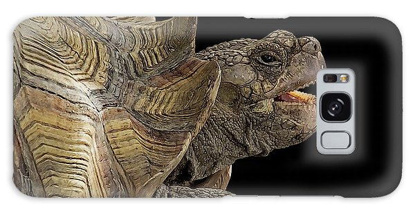 African Spurred Tortoise Galaxy Case