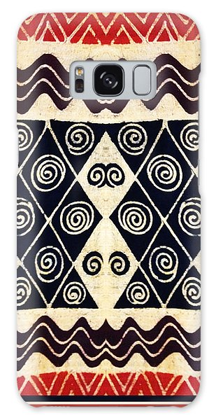 African Tribal Textile Design Galaxy Case