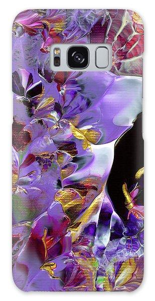African Violet Awake #2 Galaxy Case