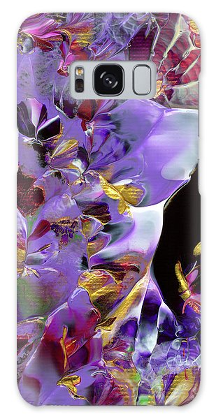 African Violet Awake #2 Galaxy Case
