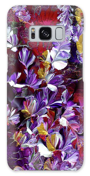 African Violet Awake #4 Galaxy Case