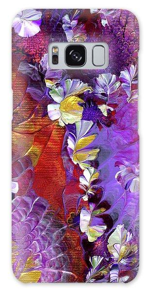 African Violet Awake #5 Galaxy Case