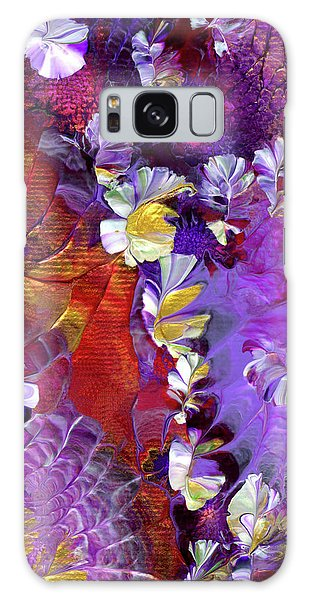 African Violet Awake #5 Galaxy Case