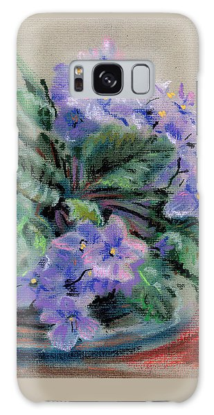 African Violet Galaxy Case
