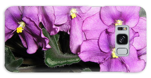African Violets Galaxy Case