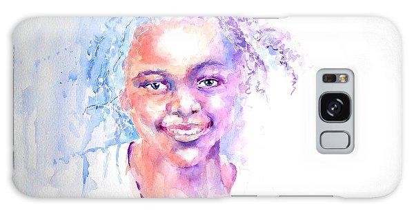 Africani Girl Galaxy Case