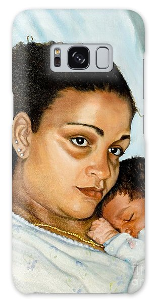 After Birth Jacina And Javon Galaxy Case by Marlene Book