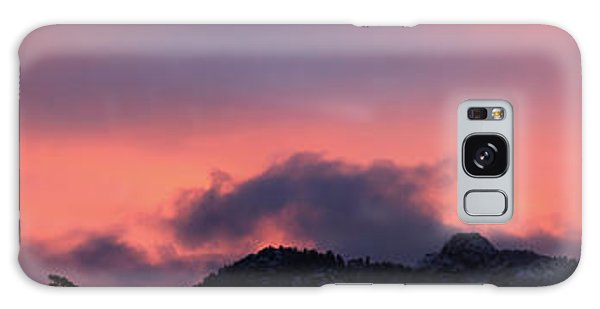After Sunset - Panorama Galaxy Case