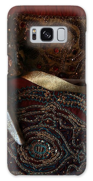 After The Ball - Venetian Mask Galaxy Case by Yvonne Wright