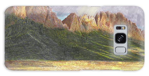 Galaxy Case - After The Monsoon Organ Mountains by Jack Pumphrey
