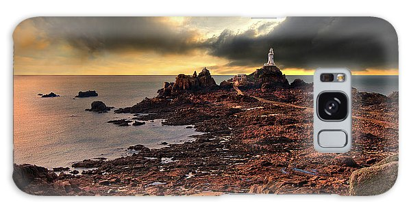 after the storm at La Corbiere Galaxy Case
