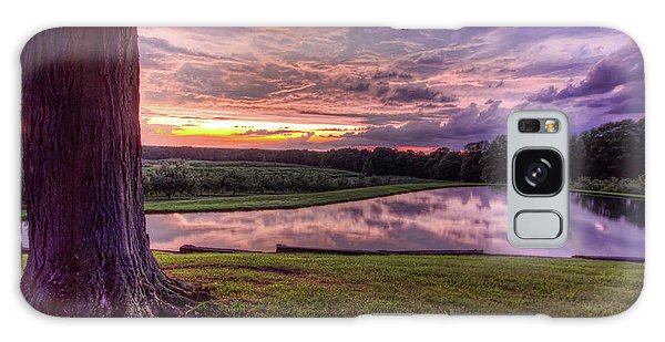 After The Storm At Mapleside Farms Galaxy Case by Brent Durken