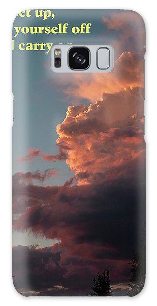 After The Storm Carry On Galaxy Case