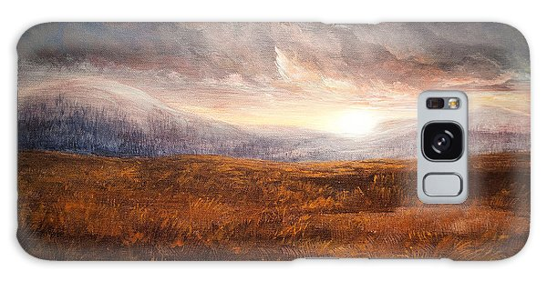 After The Storm - Warm Tones Galaxy Case by Jessica Tookey