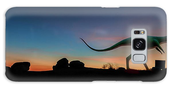 Afterglow Dinosaur Galaxy Case by Gary Warnimont