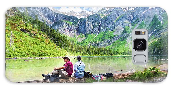 Afternoon At Avalanche Lake Galaxy Case