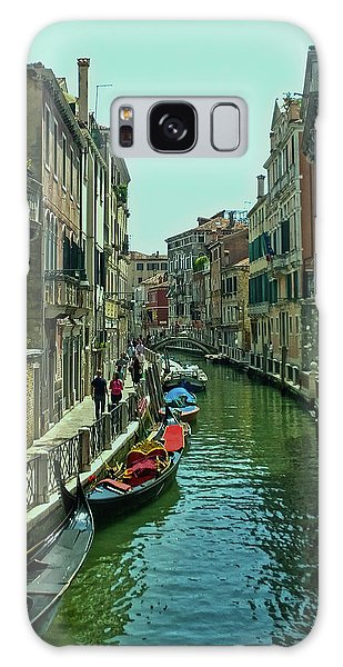 Galaxy Case featuring the photograph Afternoon In Venice by Anne Kotan