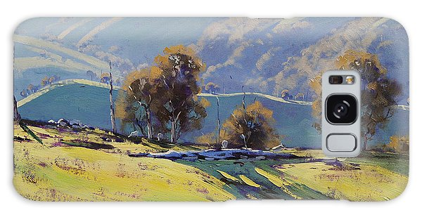 Realistic Galaxy Case - Afternoon Light Lithgow by Graham Gercken