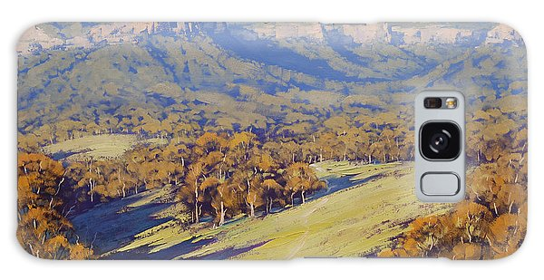 Realistic Galaxy Case - Afternoon Light Megalong Valle by Graham Gercken