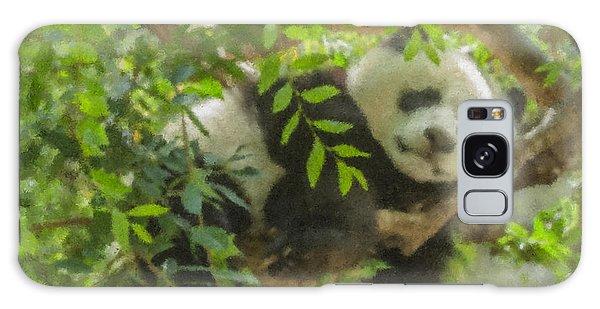 Afternoon Nap Baby Panda Galaxy Case