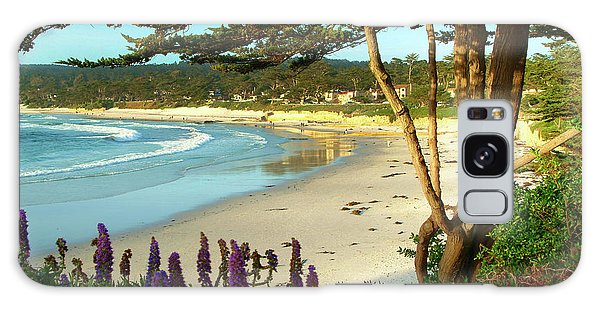 Afternoon On Carmel Beach Galaxy Case