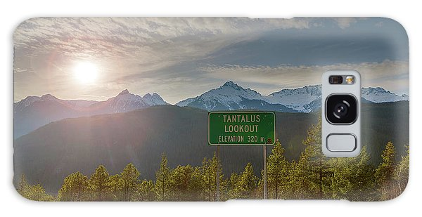 Afternoon Sun Over Tantalus Range From Lookout Galaxy Case